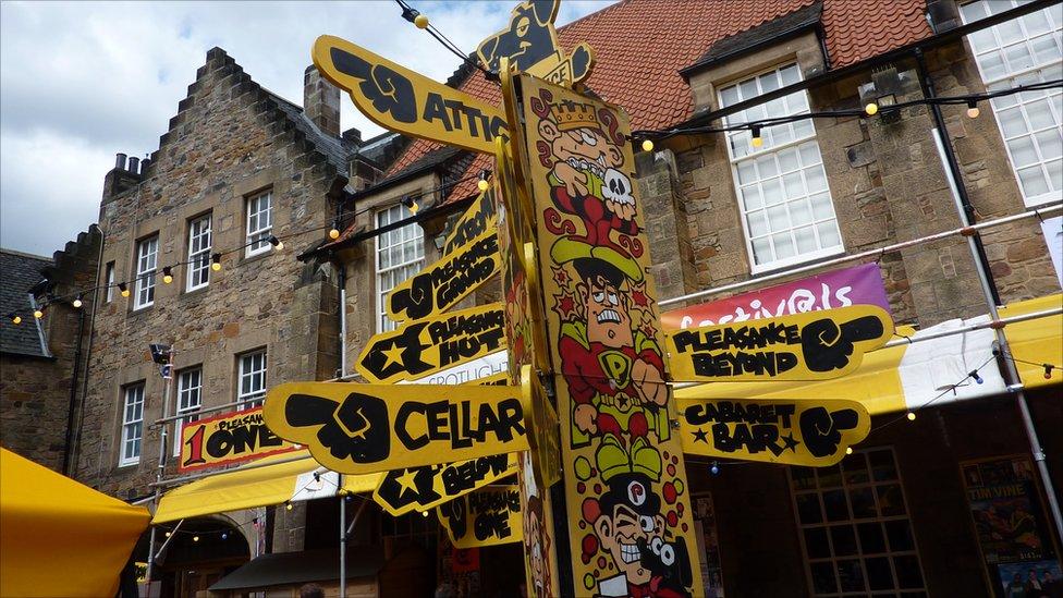 Pleasance Courtyard @ Edinburgh Fringe Festival