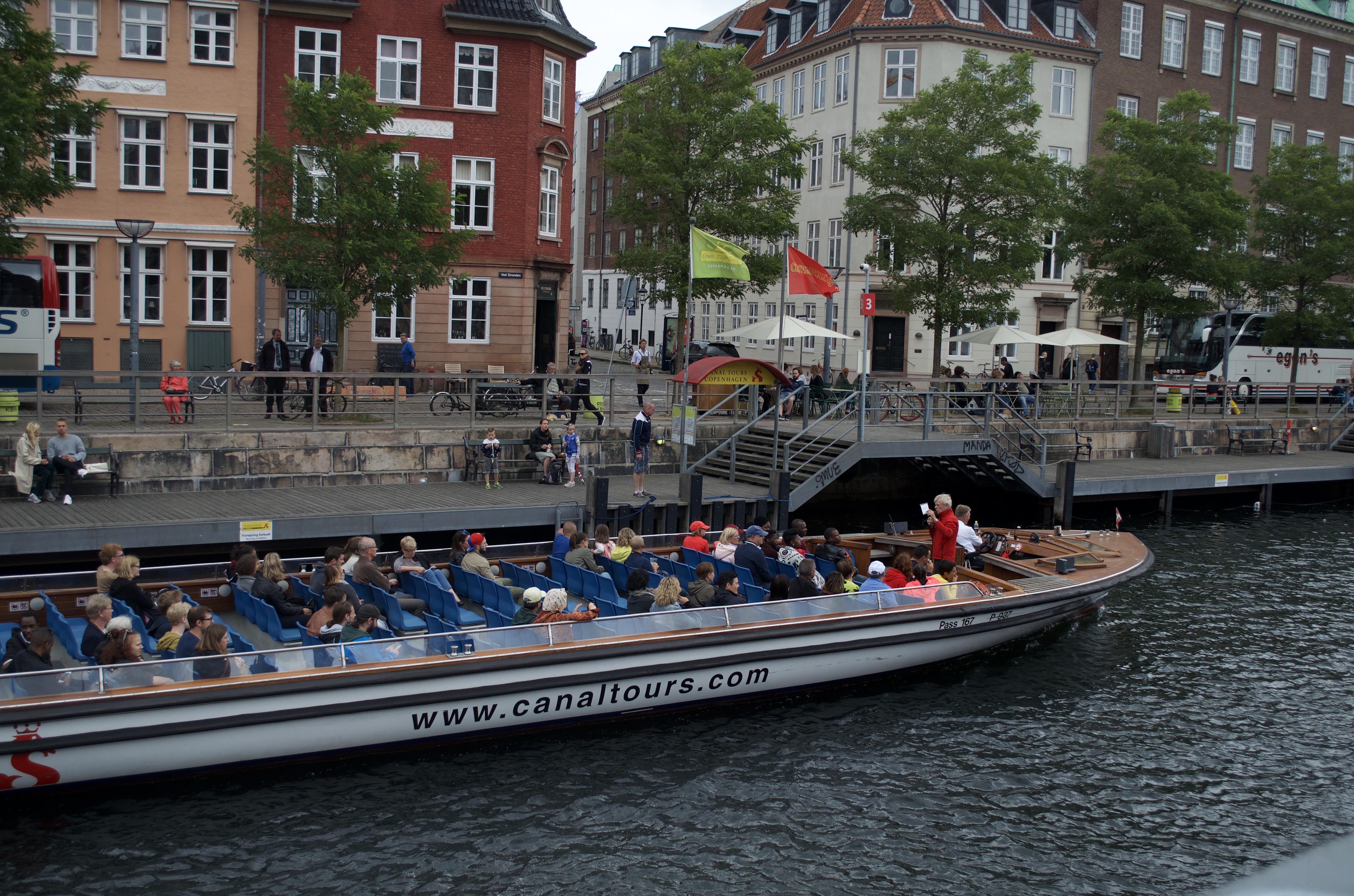 Copenhagen boat trip