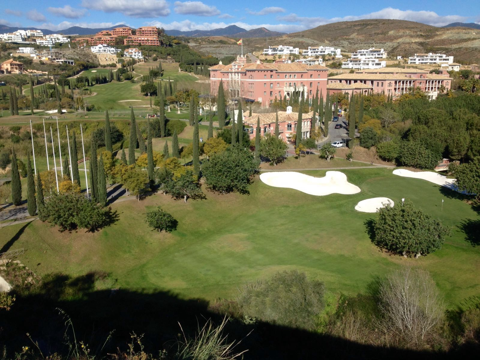 Marbella golf resort