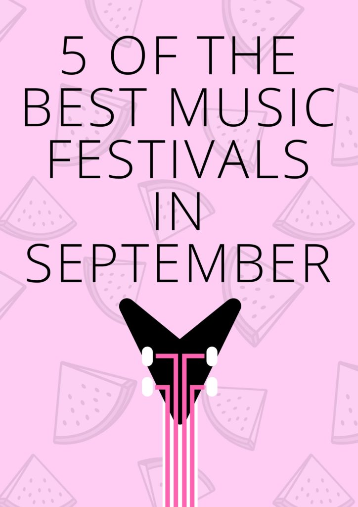 5 of the best music festivals in September