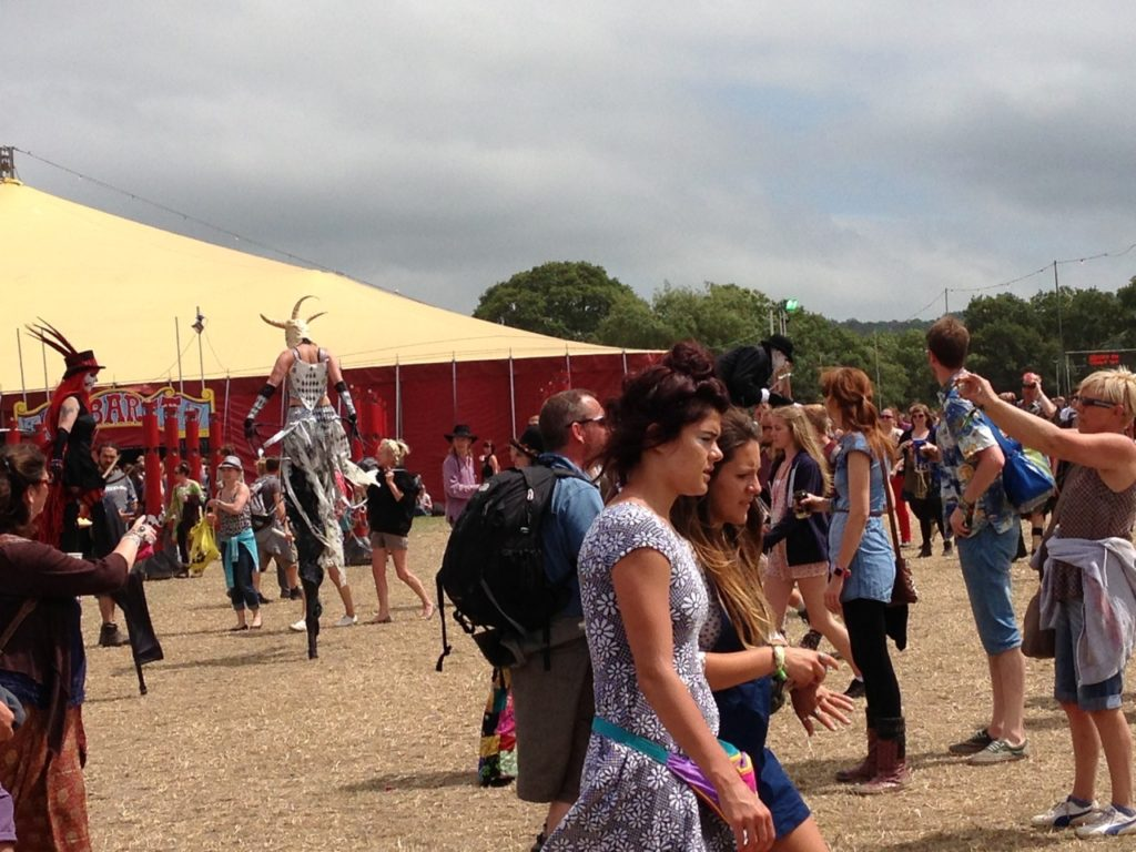 Glastonbury Caberet Field