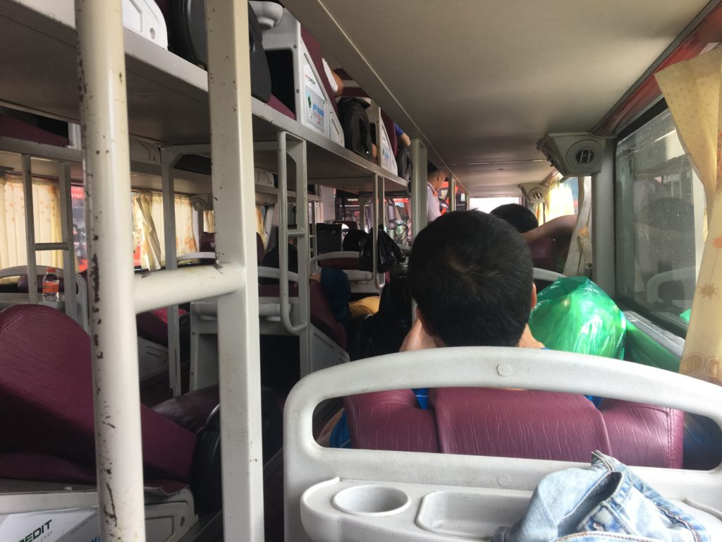 sleeper bus Vietnam