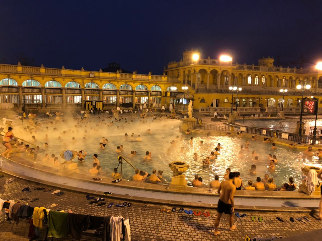 thermal spa in Budapest