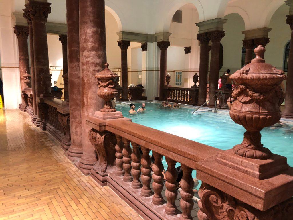 Szechenyi baths indoor pools