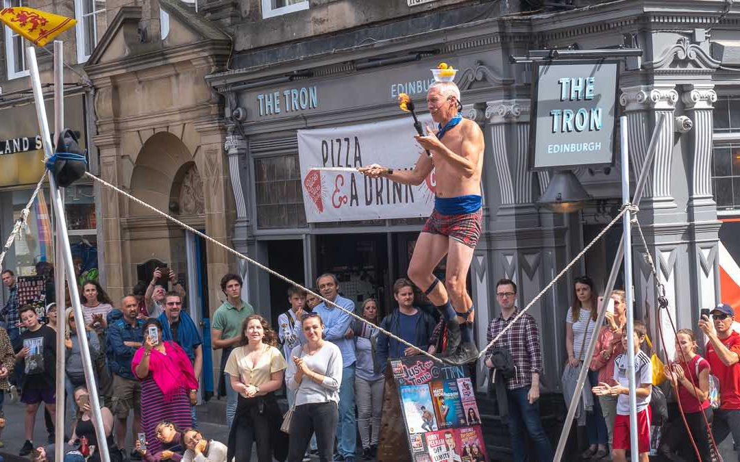 How to survive the Edinburgh Fringe Festival