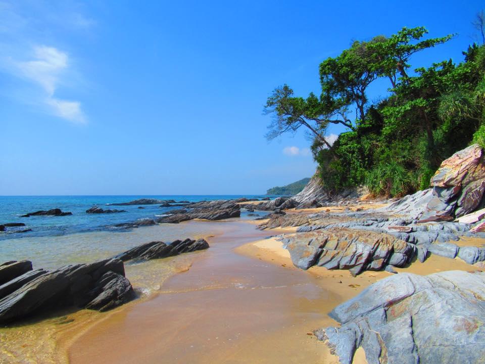 Koh Lanta bamboo beach